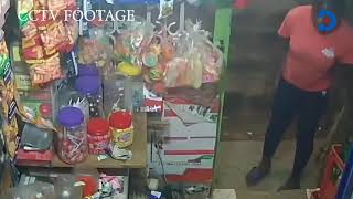 Kasarani man shot seven times in shop robbery caught on CCTV camera is selfless