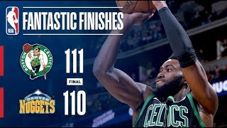 The Celtics and Nuggets Go Down to the Final Seconds   January 29, 2018