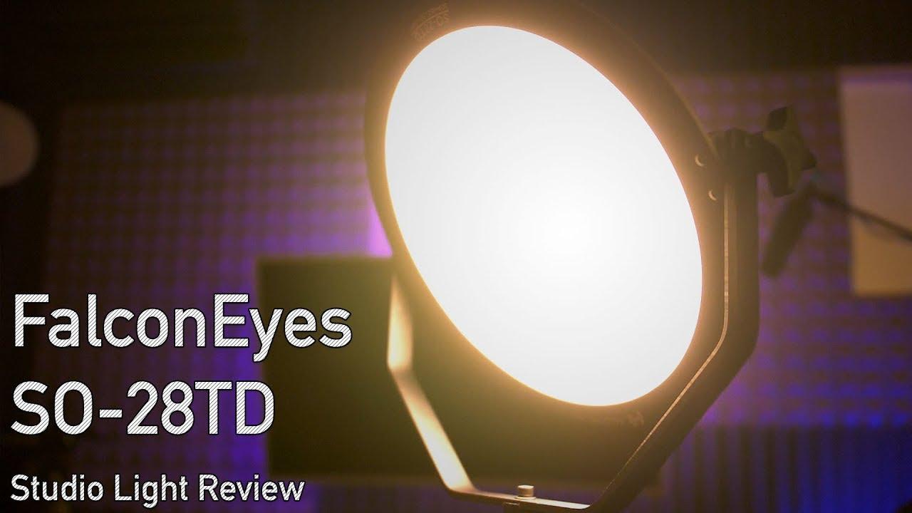 Falcon Eyes SO-28TD LED Video Light Review