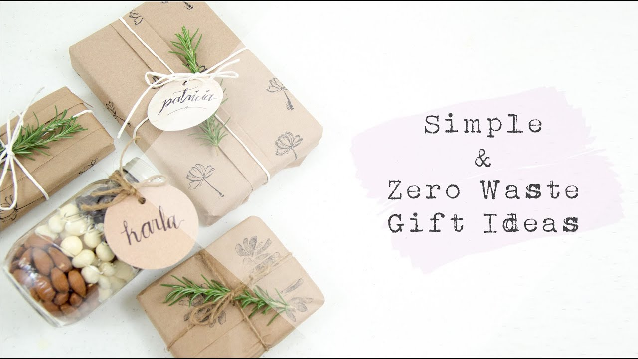 Simple Amp Zero Waste Gift Ideas Tape Free Wrapping Demo