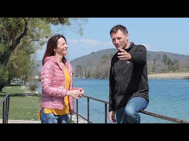 Claudia Milardo & René Stutz Présentation Nou-simplement humain