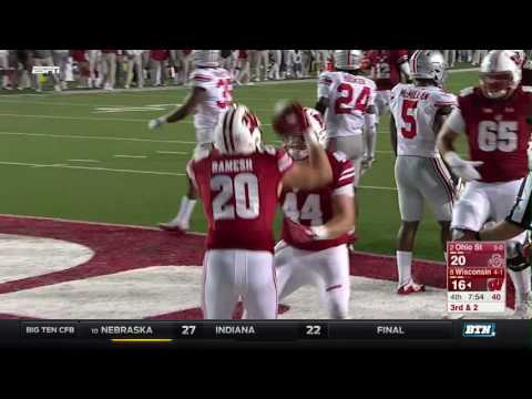 Ohio State at Wisconsin - Football Highlights