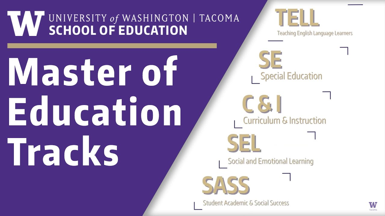 Curriculum And Instruction Social And >> Master Of Education For Practicing Educators Uw Tacoma