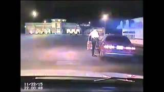 Dash cam video released of shots fired at cop