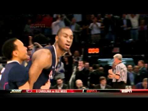 Kemba Walker UConn Buzzer Beater vs Pitt 3/10/2011
