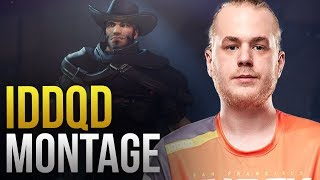 IDDQD - THE DPS AIM GOD -  Overwatch Montage