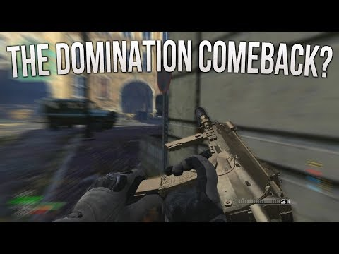 The Domination Comeback? - Modern Warfare 3 LIVE!