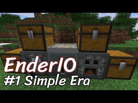 Block For Block: EnderIO 1.12.2 #1 Simple Era Machines