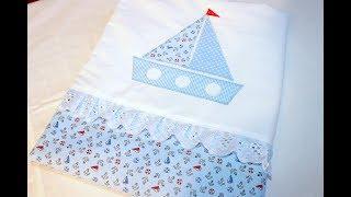 видео Одеяло в кроватку для новорожденного своими руками