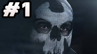 Call of Duty Ghosts Gameplay Walkthrough Part 1 - Single Player Campaign Story Mode Gameplay