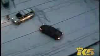 incidenti reali sul ghiaccio / real crash on ice snow parte 1