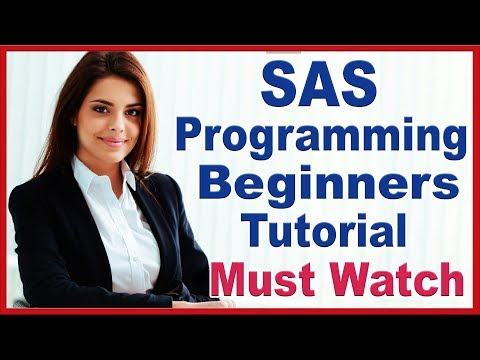 SAS Programming Tutorials For Beginners By Priya