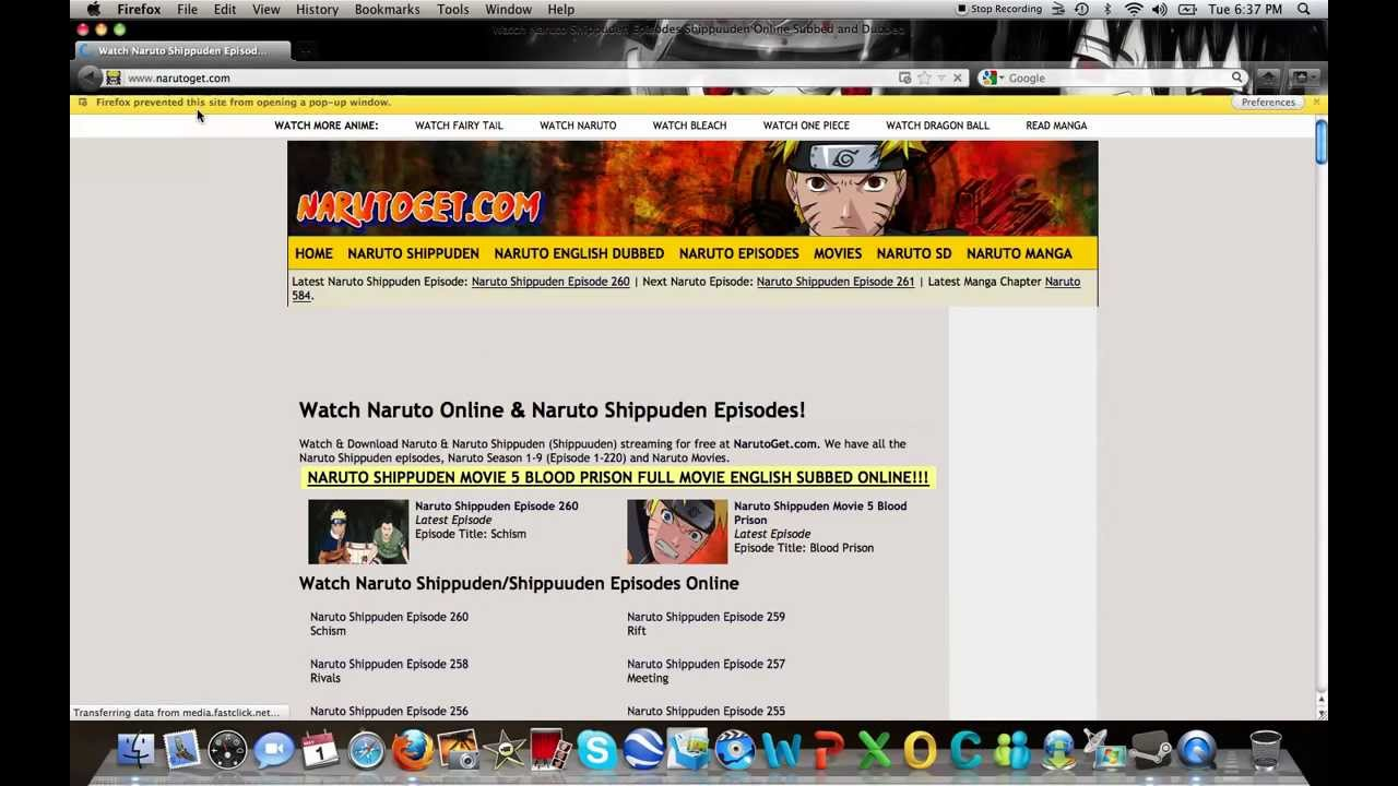 Best Site To Watch Naruto Shippuden Episodes Or Movies Youtube