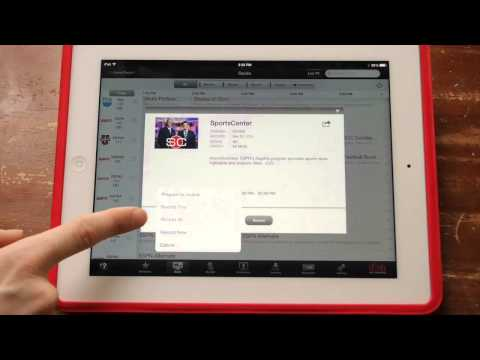 Dish Anywhere iPad  Part 1: duction and Channel Guide