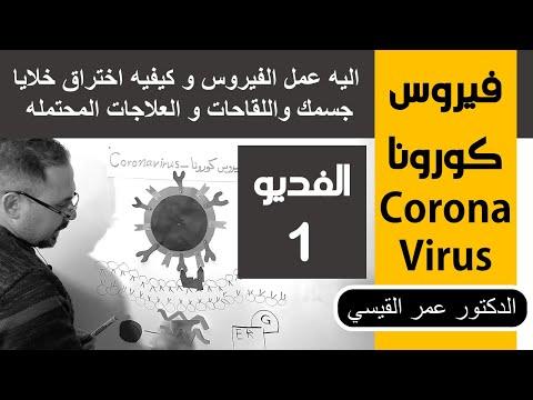 اليه عمل الفيروس و كيفيه اختراق خلايا جسمك واللقاحات و العلاجات المحتمله │ coronaviruse