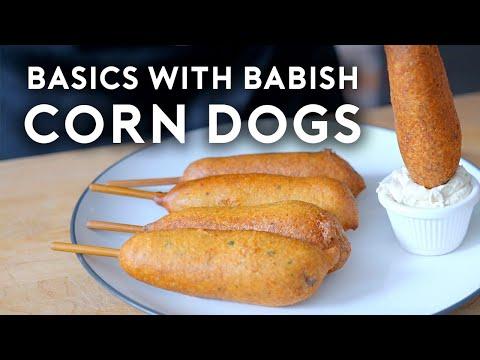 Corn Dogs   Basics with Babish