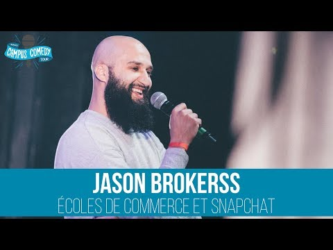 Jason Brokerss - Ecoles de Commerce & Snapchat
