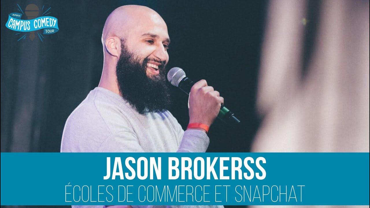 Jason Brokerss - Ecoles de Commerce & Snapchat