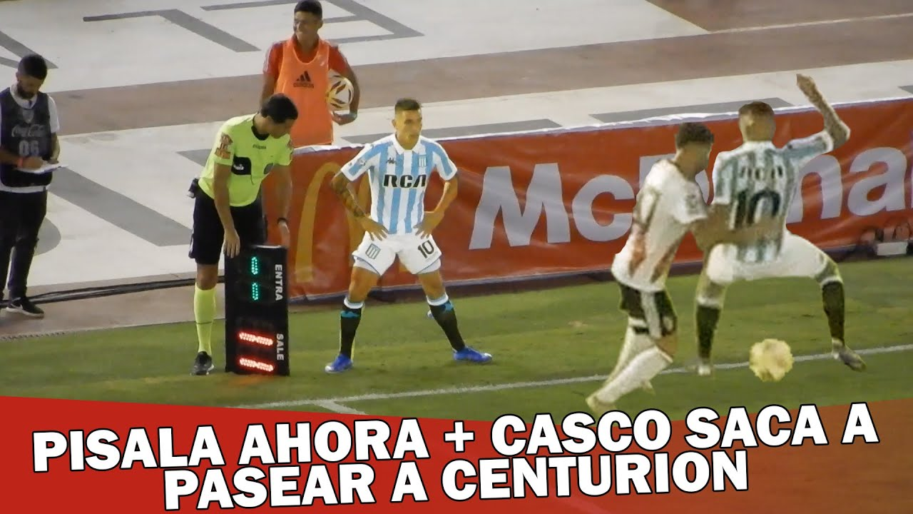 CAÑO DE CASCO A CENTURION + PISALA AHORA / River Plate vs Racing / Superliga 2019
