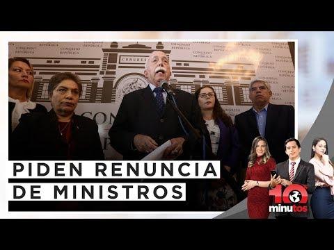 FP propone salida de los ministros ante rechazo de confianza  - 10 minutos Edición Matinal