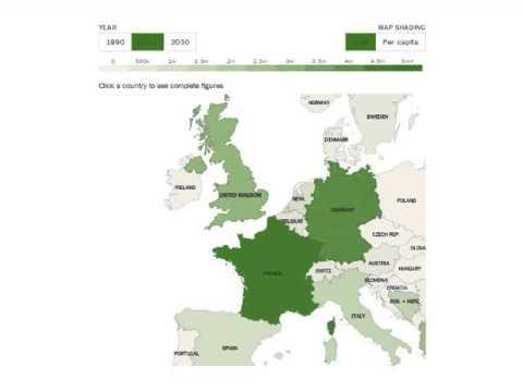 Muslim In Europe Map.Muslim Population Of Western Europe 1990 2010 2030 Youtube
