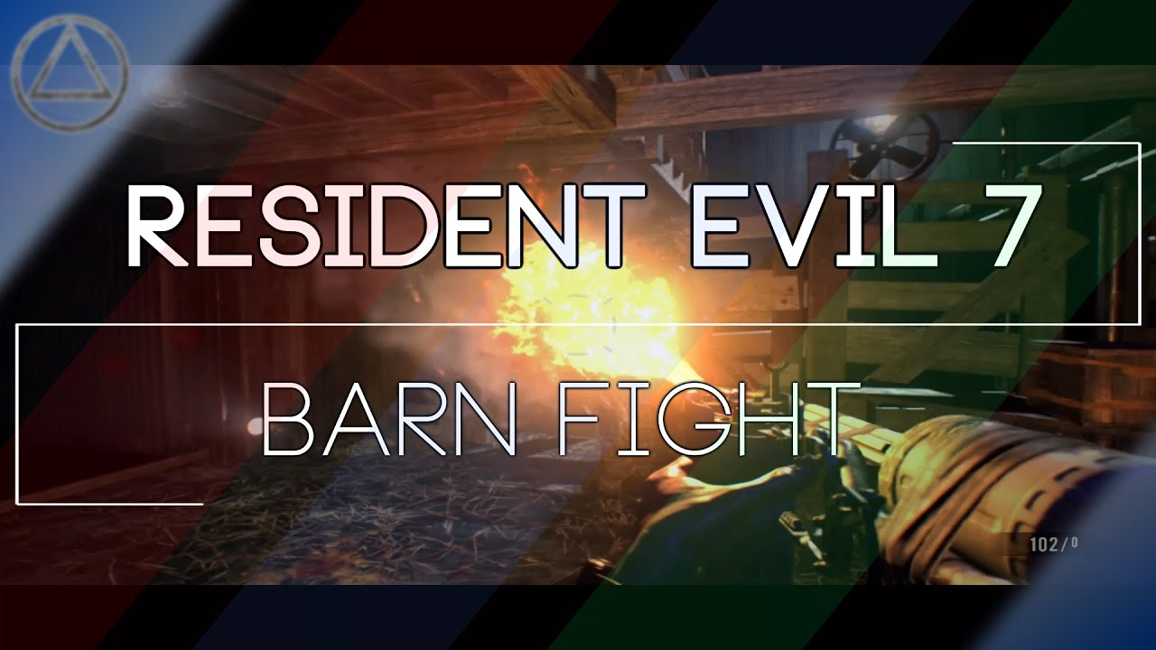 THE CAKE IS A LIE/BARN FIGHT?! - Resident Evil 7 ...