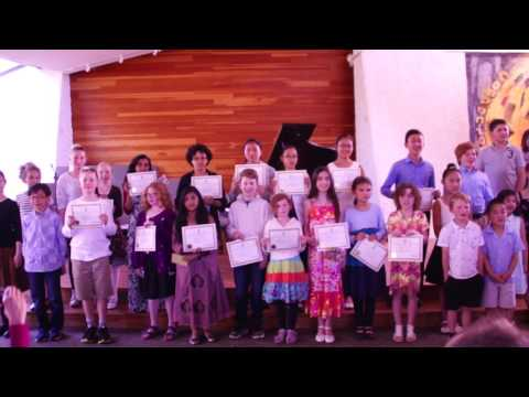 Music Award/Certificate Ceremony: Summer 2017