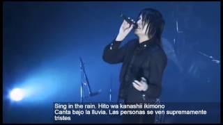 Buck-Tick - Rain [hardSub Español-Japonés]