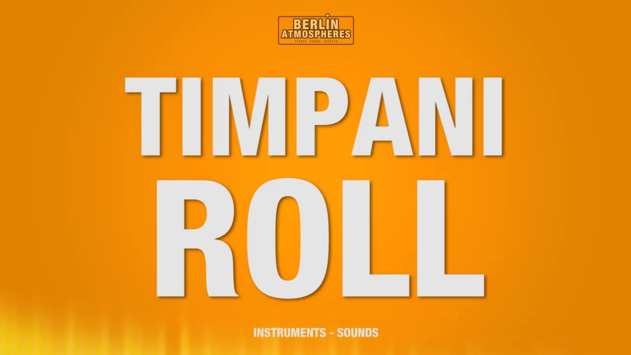 Download Timpani Roll - SOUND EFFECT - Trommelwirbel Schlagzeug Drums Drum Roll SOUNDS