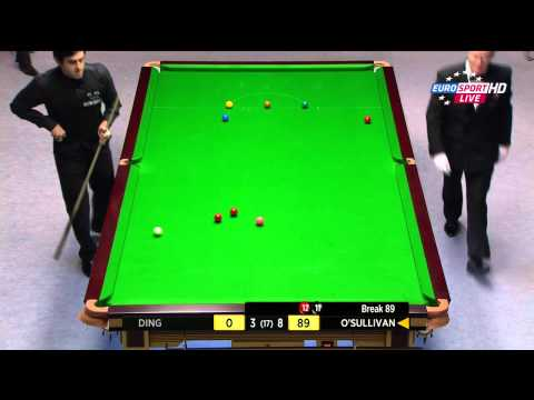 'That's how I finish it!' Ronnie O'Sullivan's12th 147 - HD