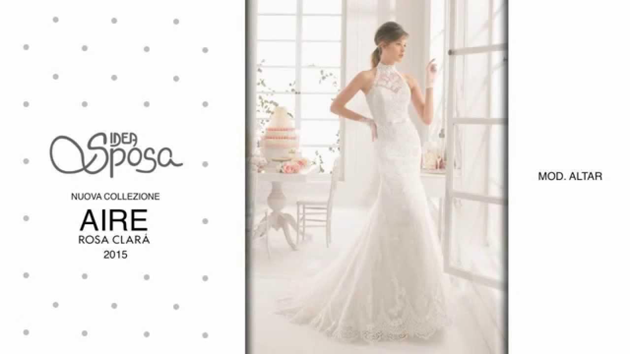 80cba85fb4ac Idea Sposa - Nuova collezione Aire by Rosa Clarà 2015 - YouTube