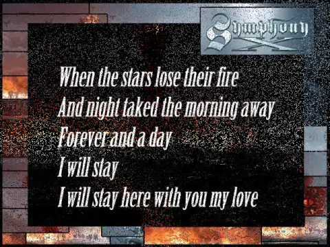 SYMPHONY X - The Sacrifice (w/pics. & lyrics)