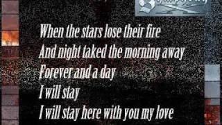 SYMPHONY X - The Sacrifice (w/pics. & lyrics)