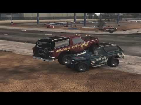 flatout 3 : derby 1 with replay with my car of blaster XL