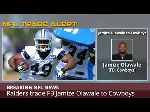 BREAKING: Raiders Trade FB Jamize Olawale To Cowboys - Details And Analysis