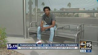 Mesa grandma accidentally invites stranger over to Thanksgiving dinner