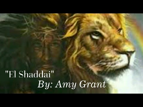 """El Shaddai"" by Amy Grant (Sign Language)"