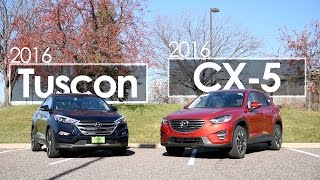 Tucson | CX-5 | 2016 Model Comparison | Driving Review