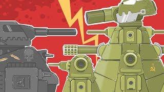 Битва КВ44 против Машины Смерти (Большой мульт)