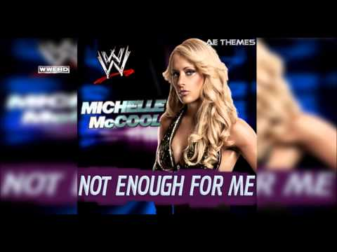 """WWE: """"Not Enough For Me"""" (Michelle McCool) Theme Song + AE (Arena Effect)"""