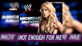 "WWE: ""Not Enough For Me"" (Michelle McCool) Theme Song + AE (Arena Effect)"