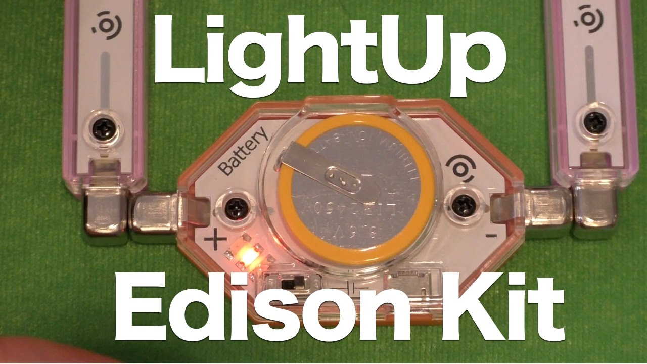 Lightup Edison Kit Review Magnetic E Connected Circuit Building Simple Circuits For Kids To Make Hqdefaultjpg Youtube