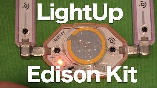 Lightup Edison Kit Review, Magnetic E-connected Circuit Building Kit