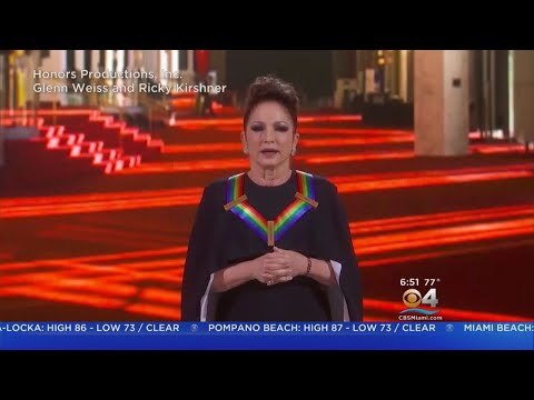 Gloria Estefan Hosts Kennedy Center Honors
