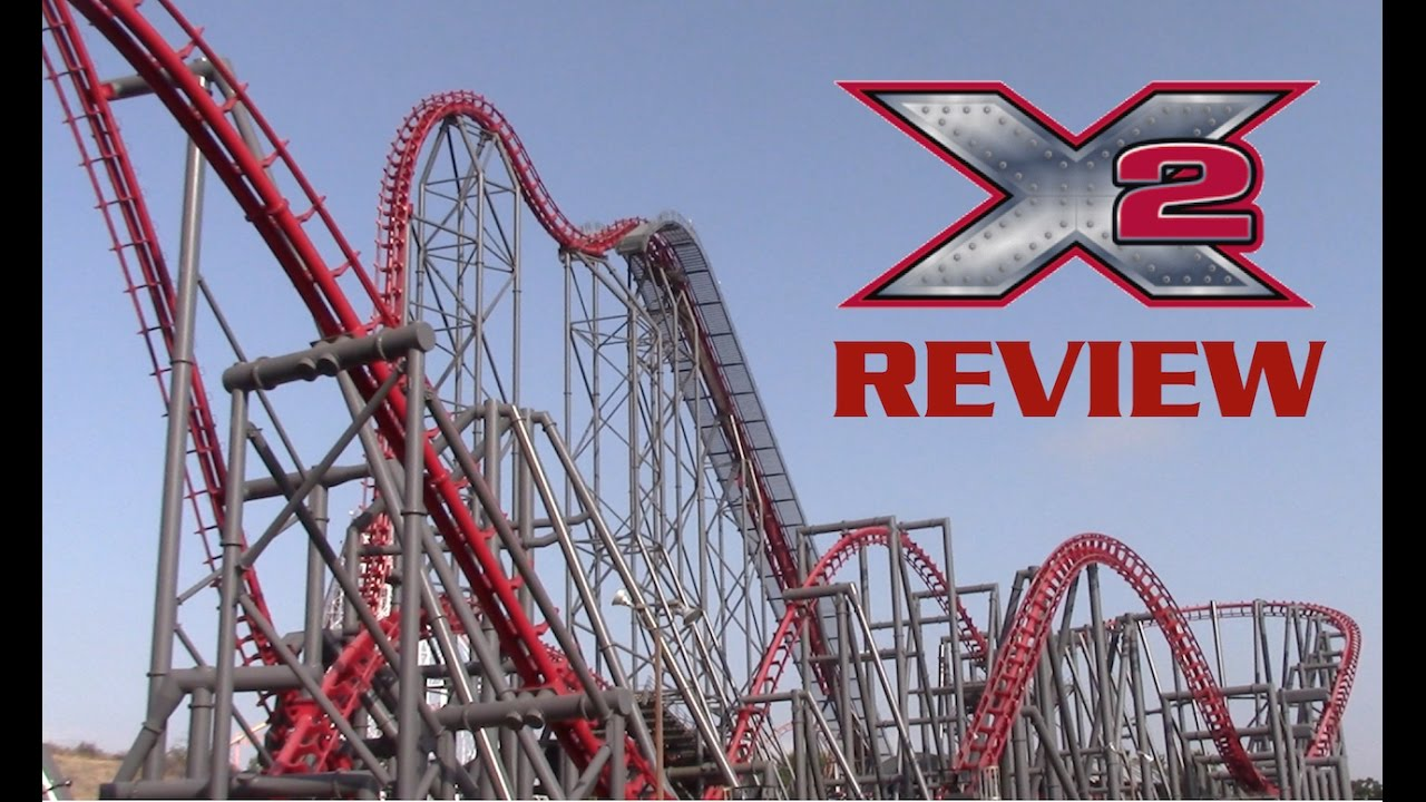 No returns accepted on this item. X2 Review Six Flags Magic Mountain 4th Dimension Coaster Youtube