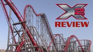X2 Review Six Flags Magic Mountain 4th Dimension Coaster