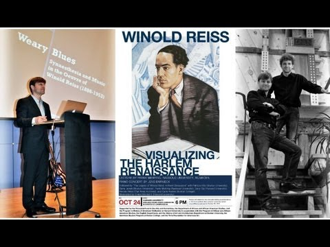 Lecture on Winold Reiss Visualizing the Harlem Renaissance by Frank Mehring at Harvard, 2012