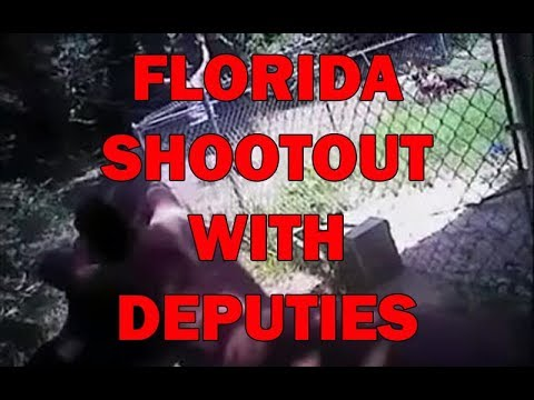 Florida Shootout With Deputies After Man Shoots Wife On Video - LEO Round Table episode 541