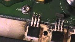 MTX 81000D Amp Mosfet Repair