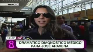 Dramático diagnóstico médico para José Aravena